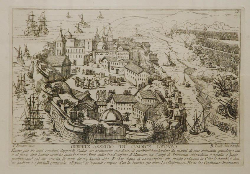 Orribile assedio di Cadice levato