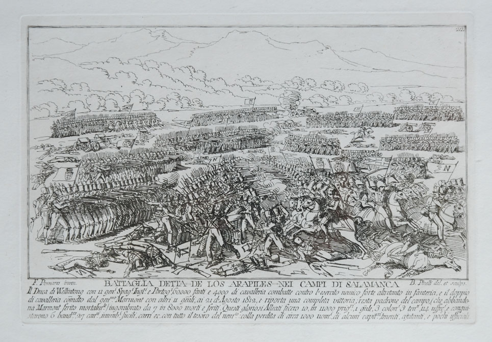 Battaglia detta de los Arapiles nei campi di Salamanca