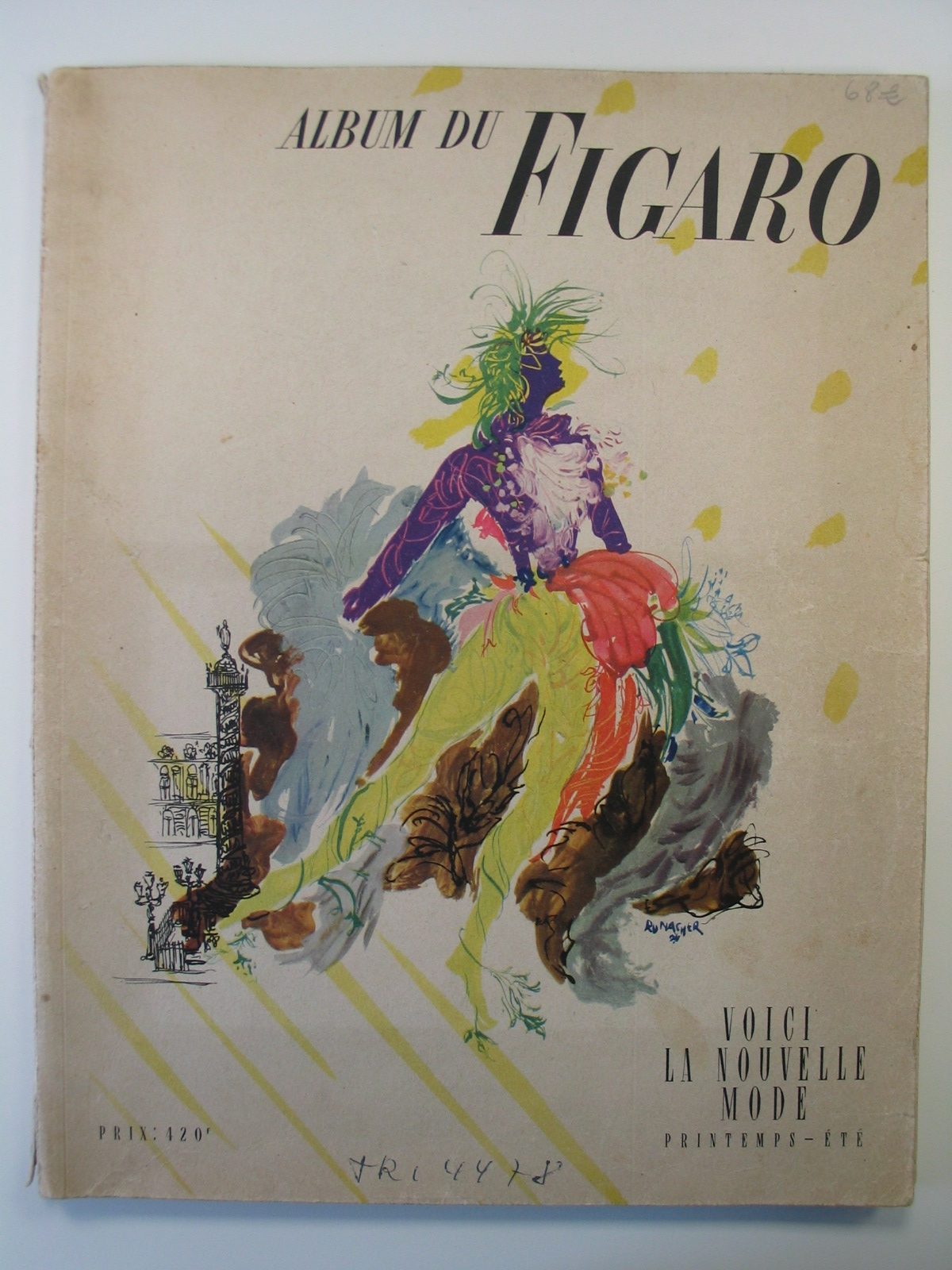 "Revista ""Album du Figaro nº 18, printemps 1949"""