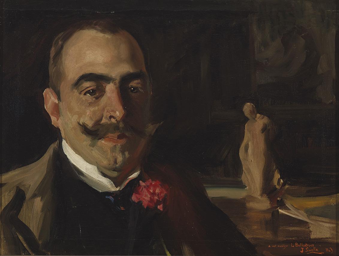 Retrato de D. Luis López Ballesteros