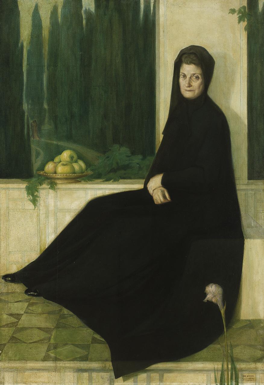 La madre del pintor