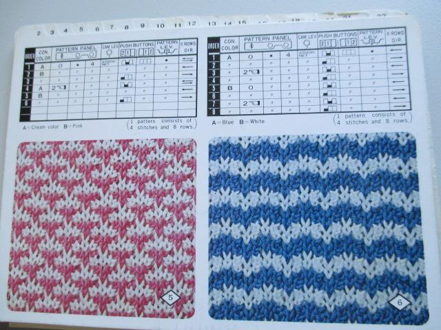 Fichas para tricotar con TRICOTOSA diferentes modelos y patrones