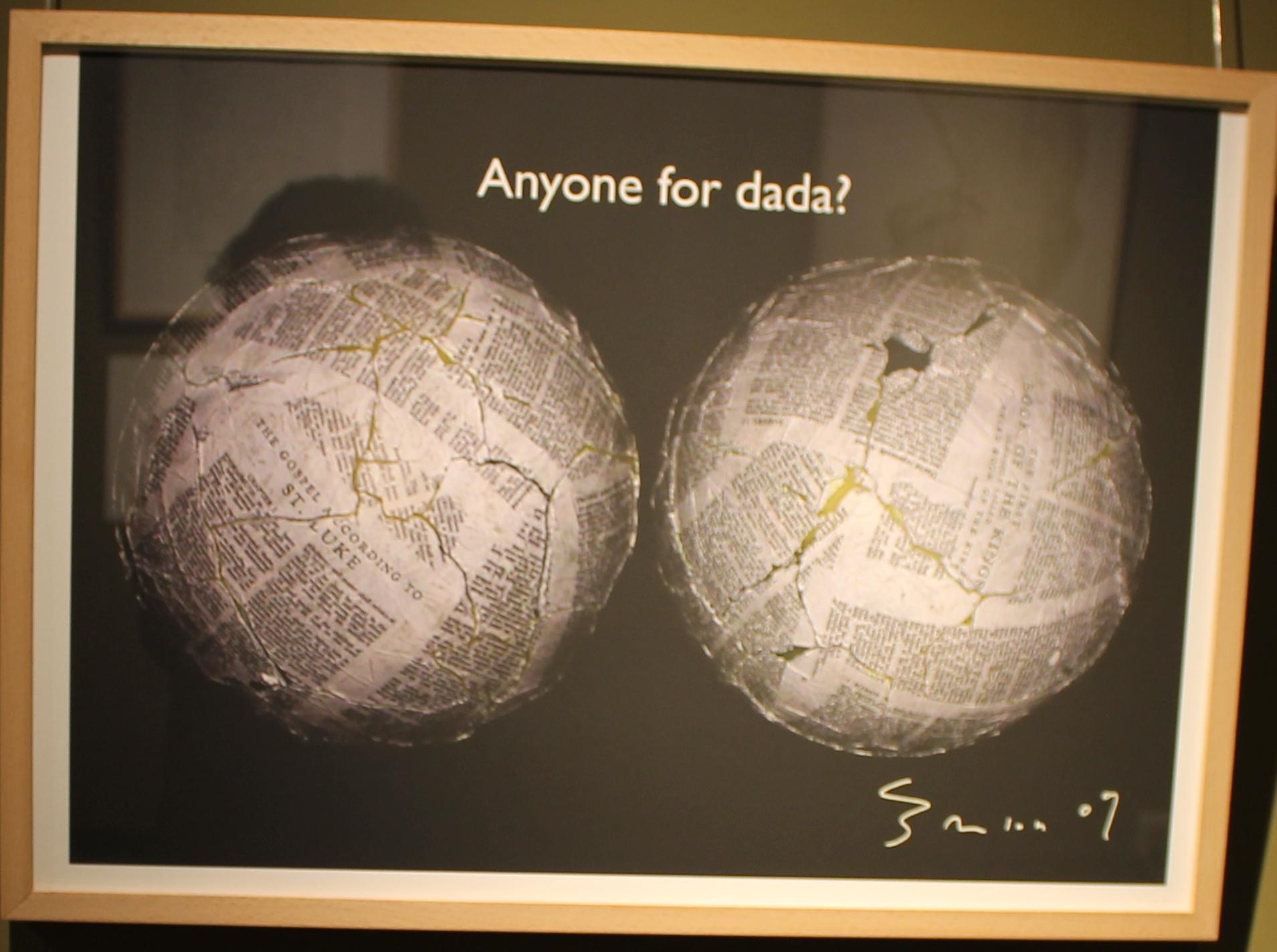 Anyone for dada?