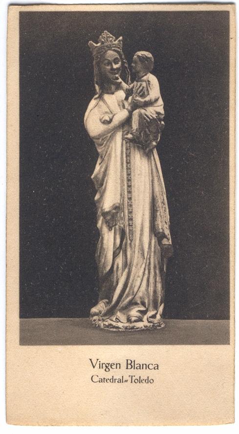 Estampa de la Virgen Blanca