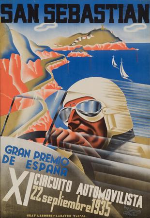 San Sebastian / Gran Premio / de España / XI Circuito Automovilista / 22 septiembre 1935
