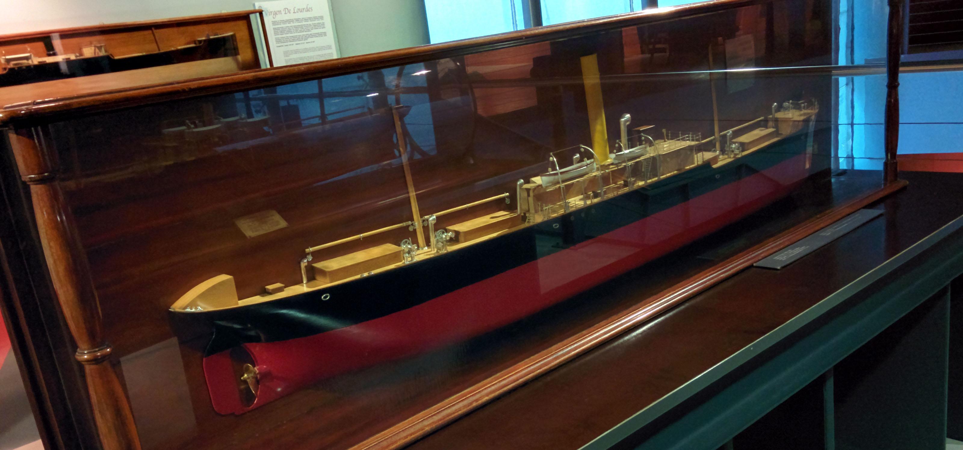 Maqueta buque 'Anboto Mendi'