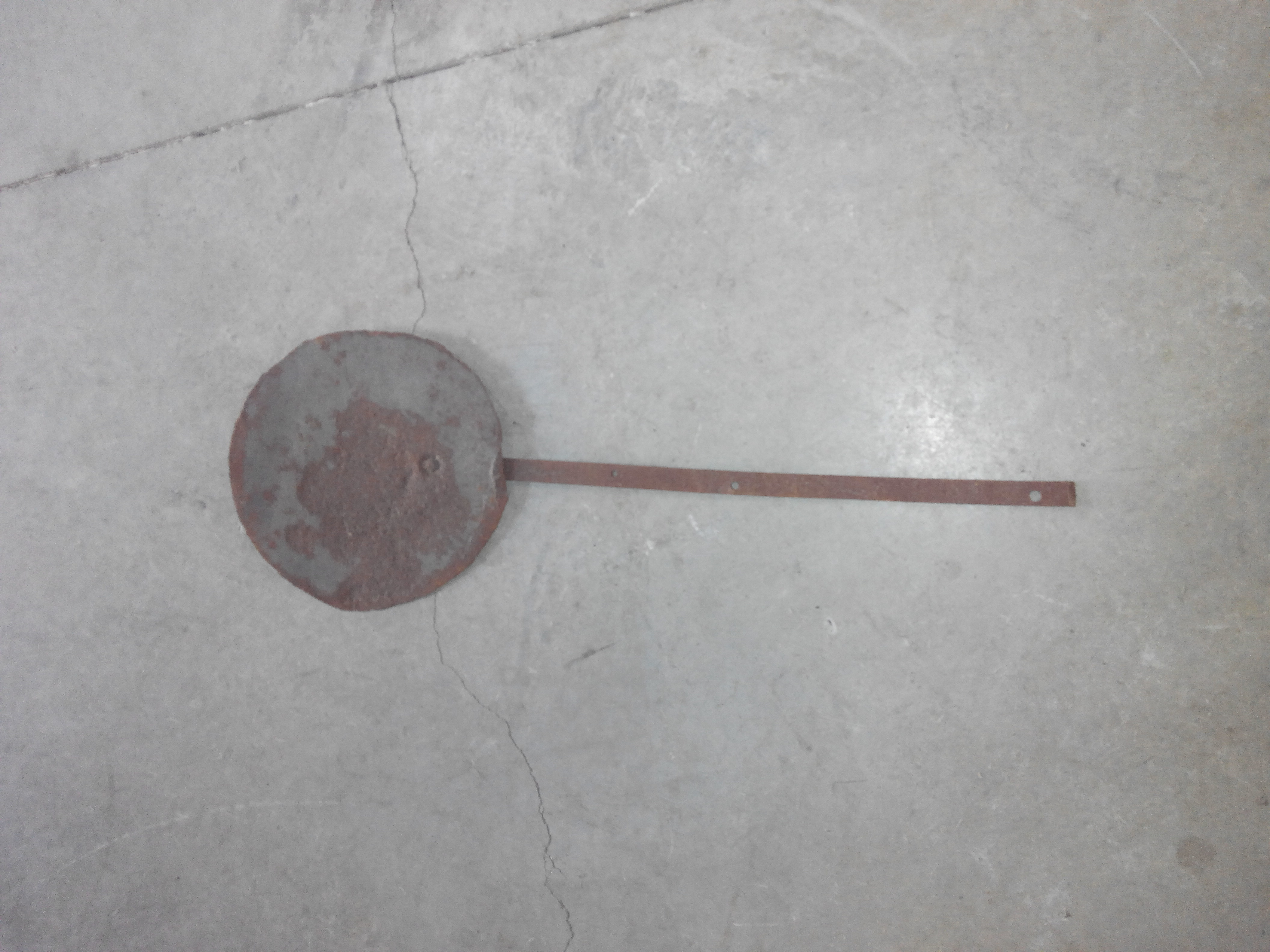 Pala de talo de hierro