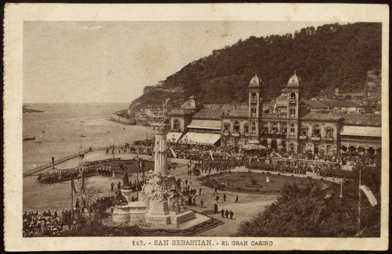 San Sebastián. El Gran Casino