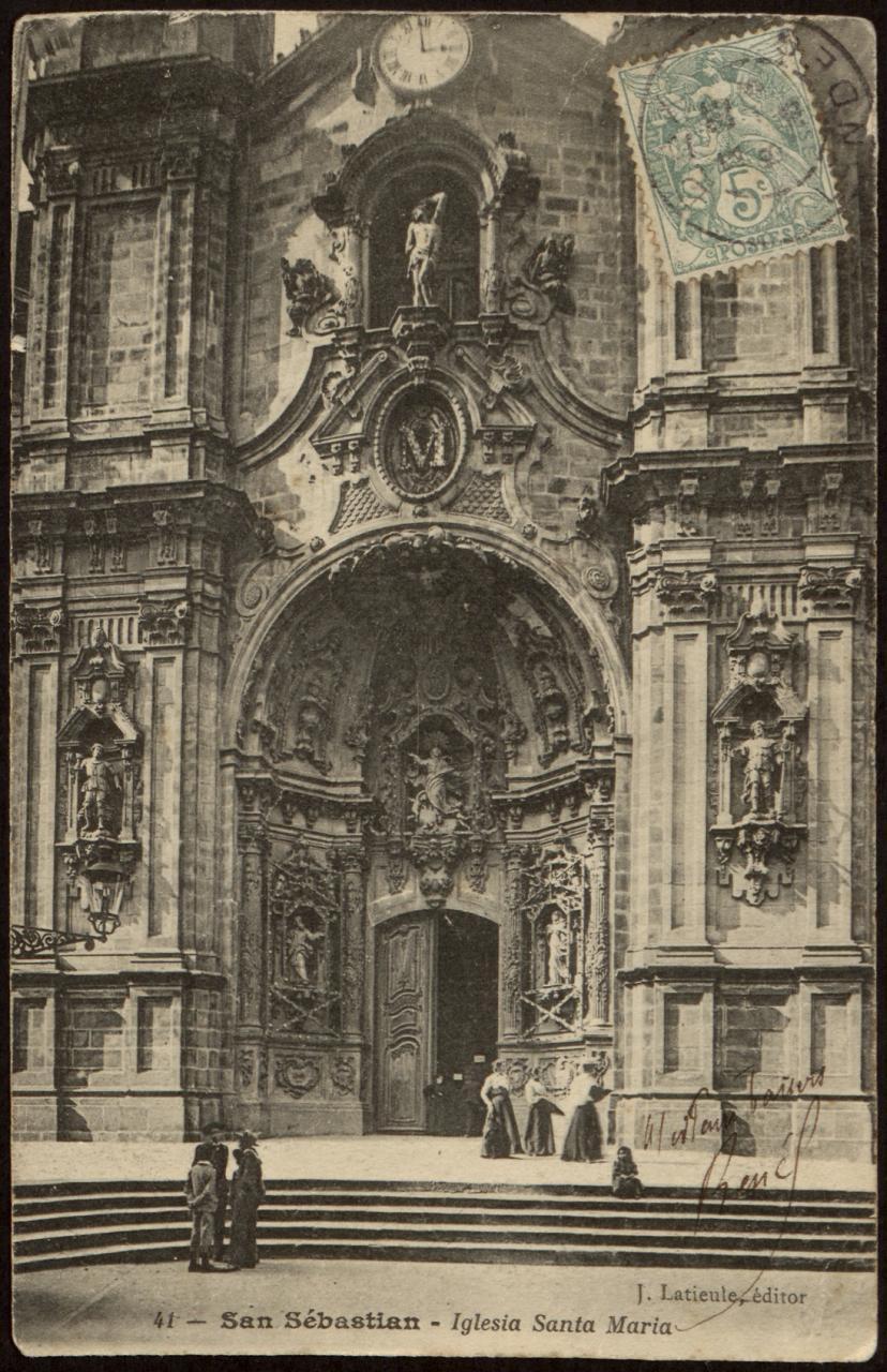 San Sebastián. Iglesia de Santa María