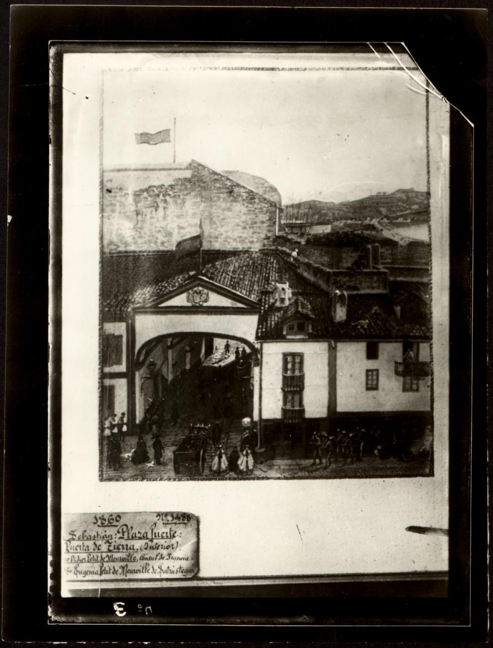 Puerta Tierra. San Sebastián.