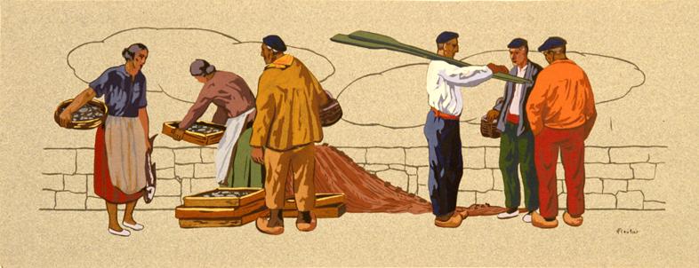 Pescadores vascos