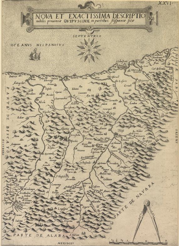 """""""Nova et Exactissima Descriptio nobilis provincia Guipuscouae in partibus Hispania sita"""""""
