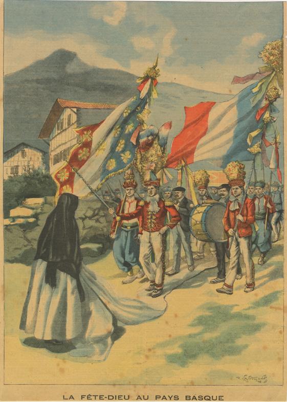 """""""La Fête-Dieu au Pays Basque"""""""