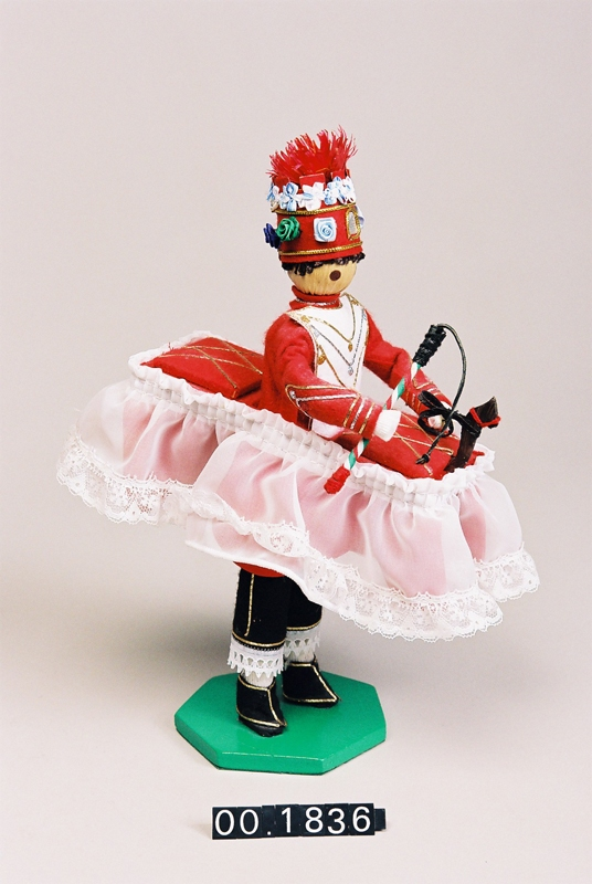 Miniatura del dantzari Zamaltzain