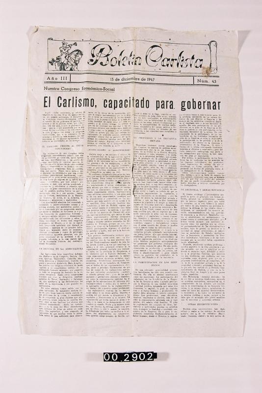 """Boletín Carlista"""
