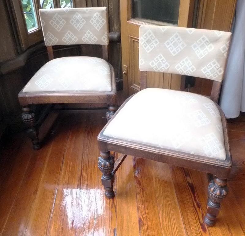 Pareja de sillas