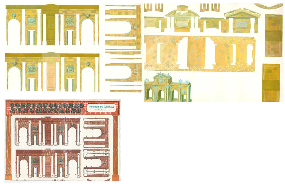 """""""Construcciones monumentales"""". Material de edición"""