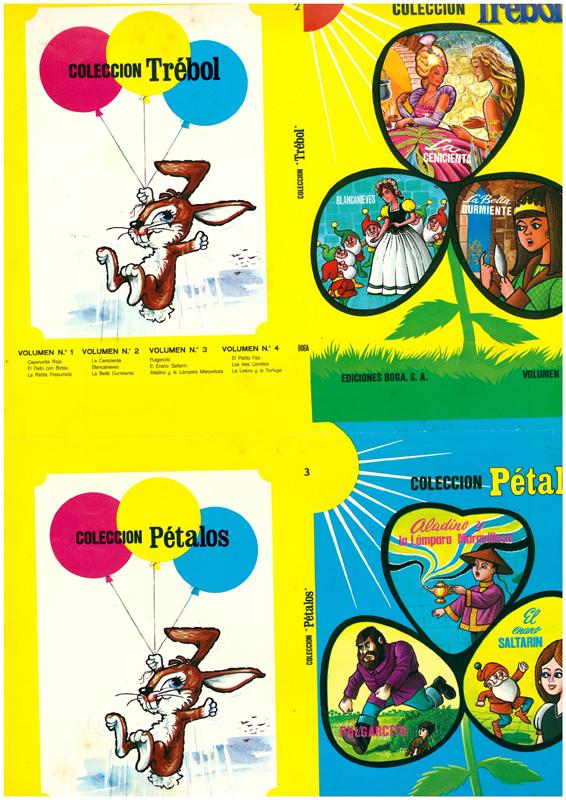 "Colección ""Pétalos"". Material de edición"