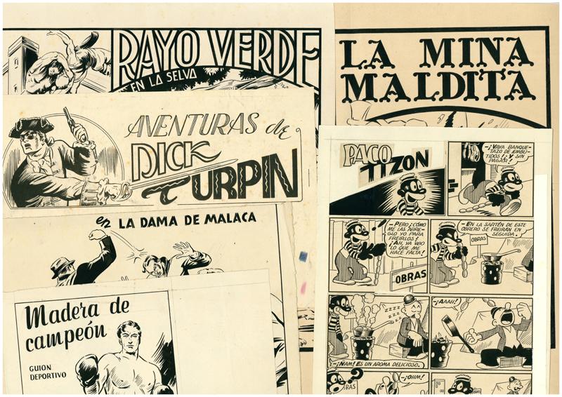 Dibujos para Comics