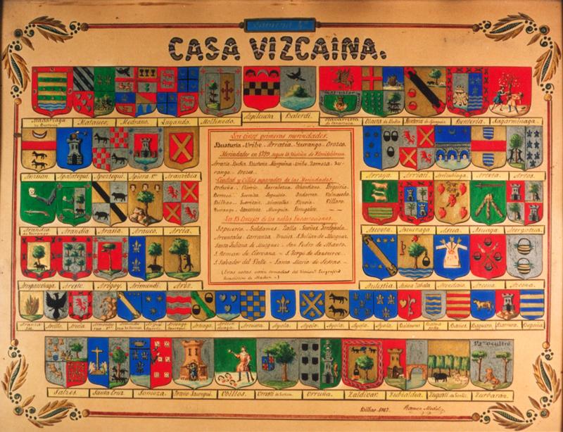 """""""Casa Vizcaina. Merindades, Ciudad y Villas del Señorío y Concejos de las Encartaciones"""""""