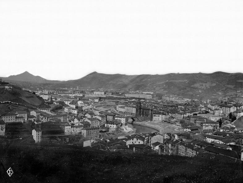 Bilbao desde las minas del Morro