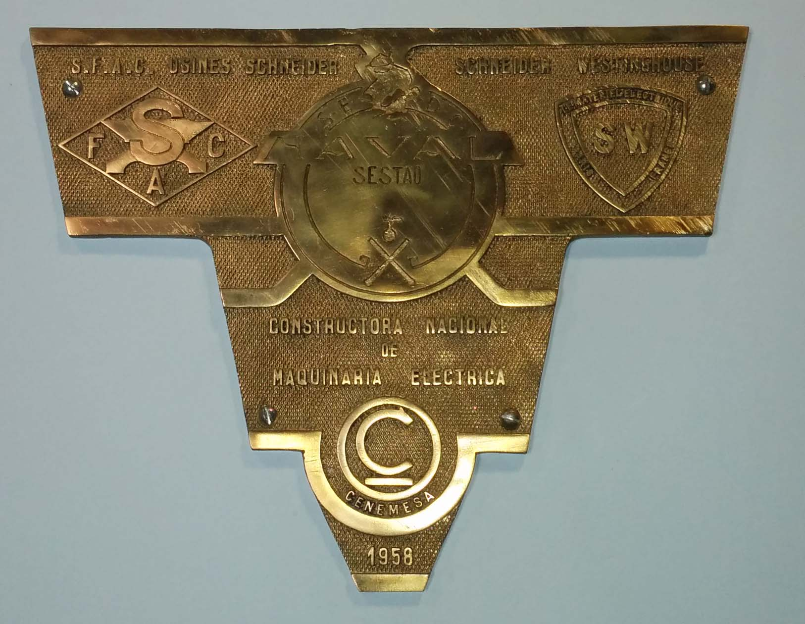 Placa La Naval - Cenemesa