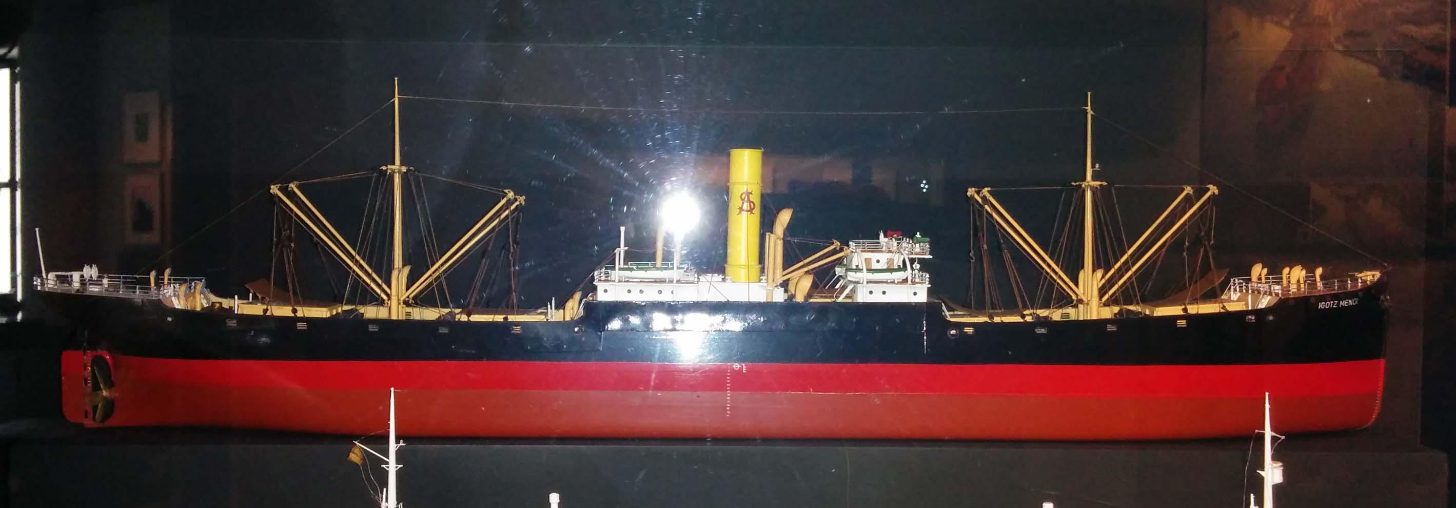 Maqueta buque IGOTZ MENDI