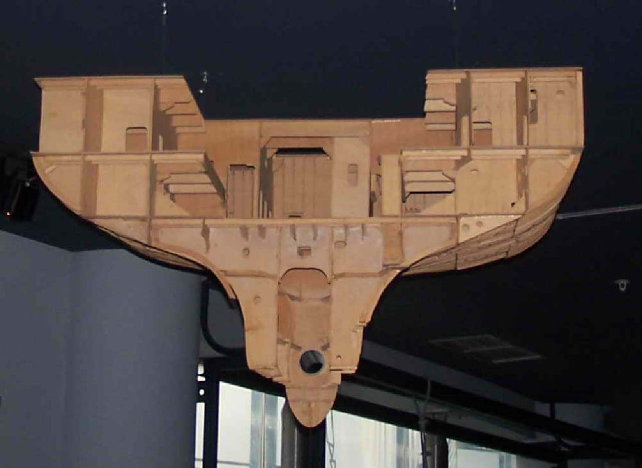 Maqueta de formas buque