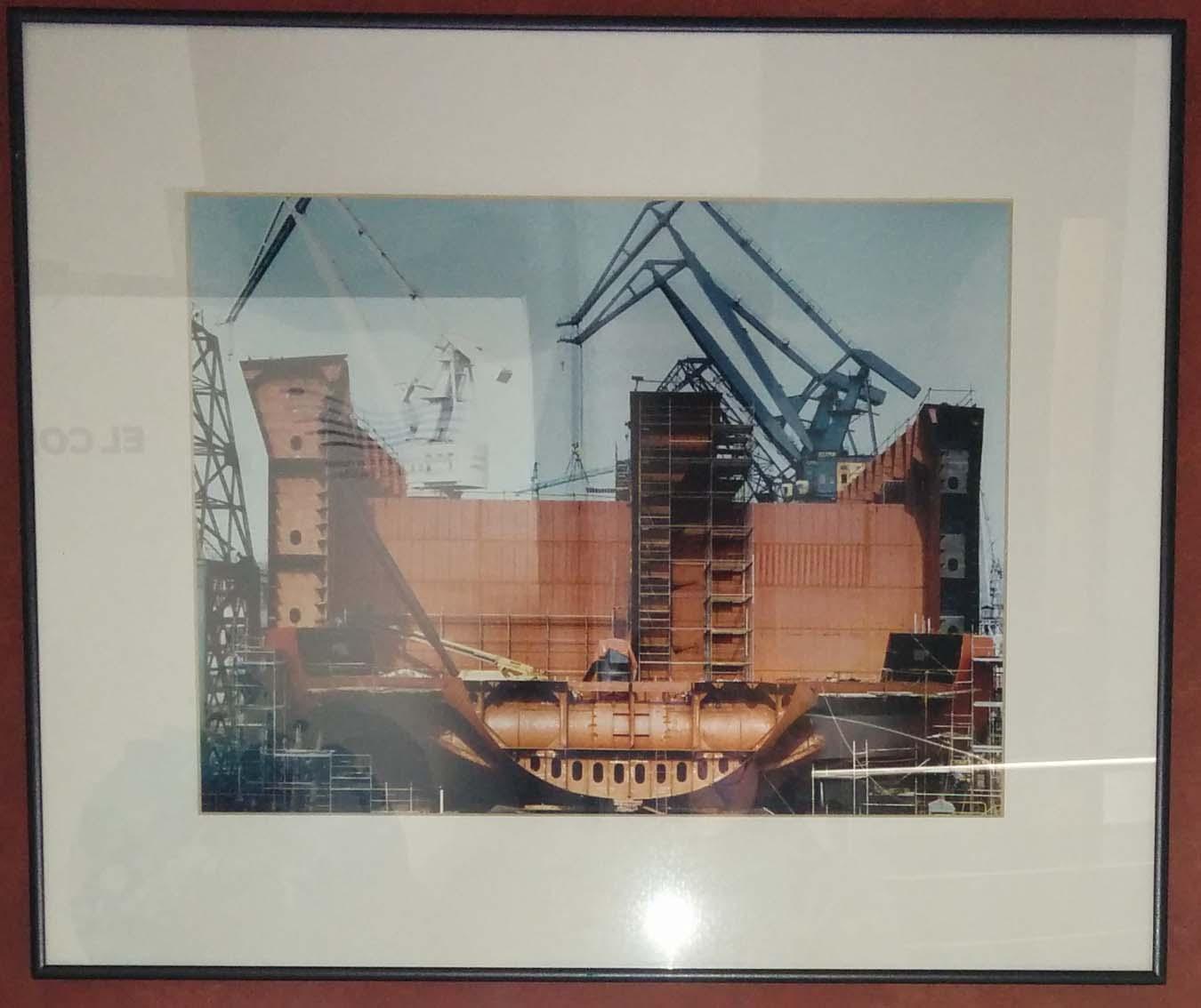 Fotografia La Naval 46. Construcción de un Shuttle. Julio 1992