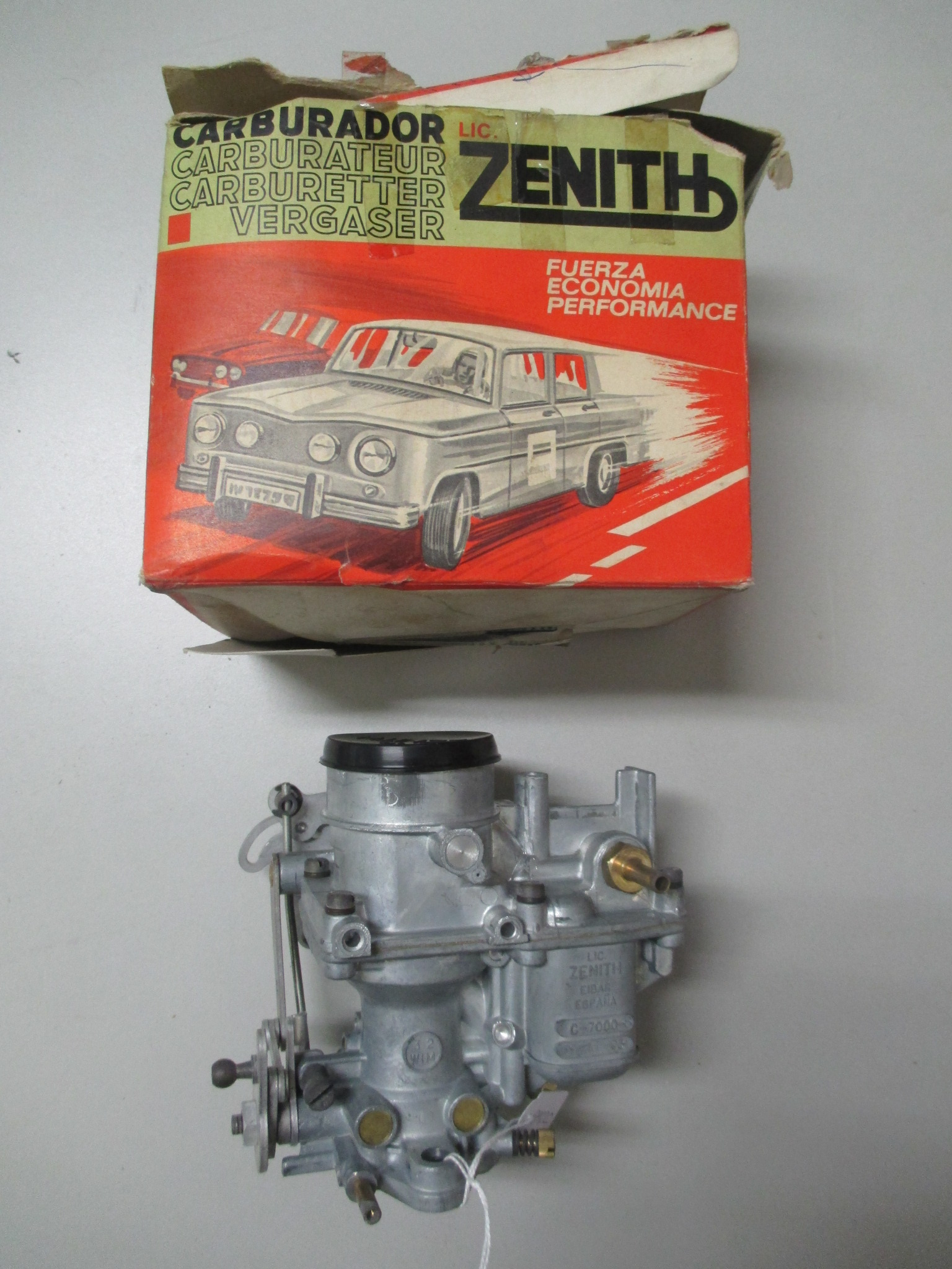 Carburador ZENITH para Seat-600