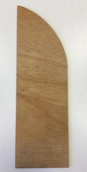 Modelo de puerta izquierda para el triptíco 2479/01