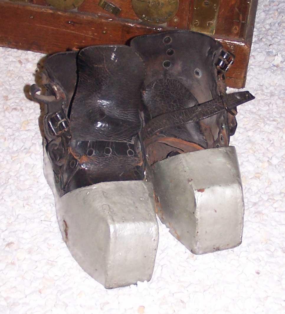 Botas de buzo
