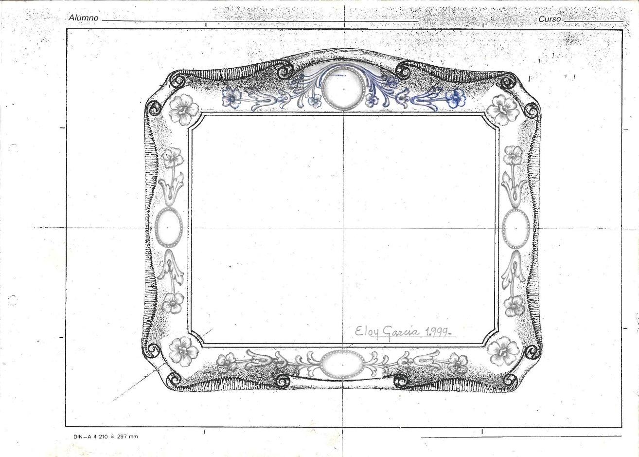 Diseño para un marco