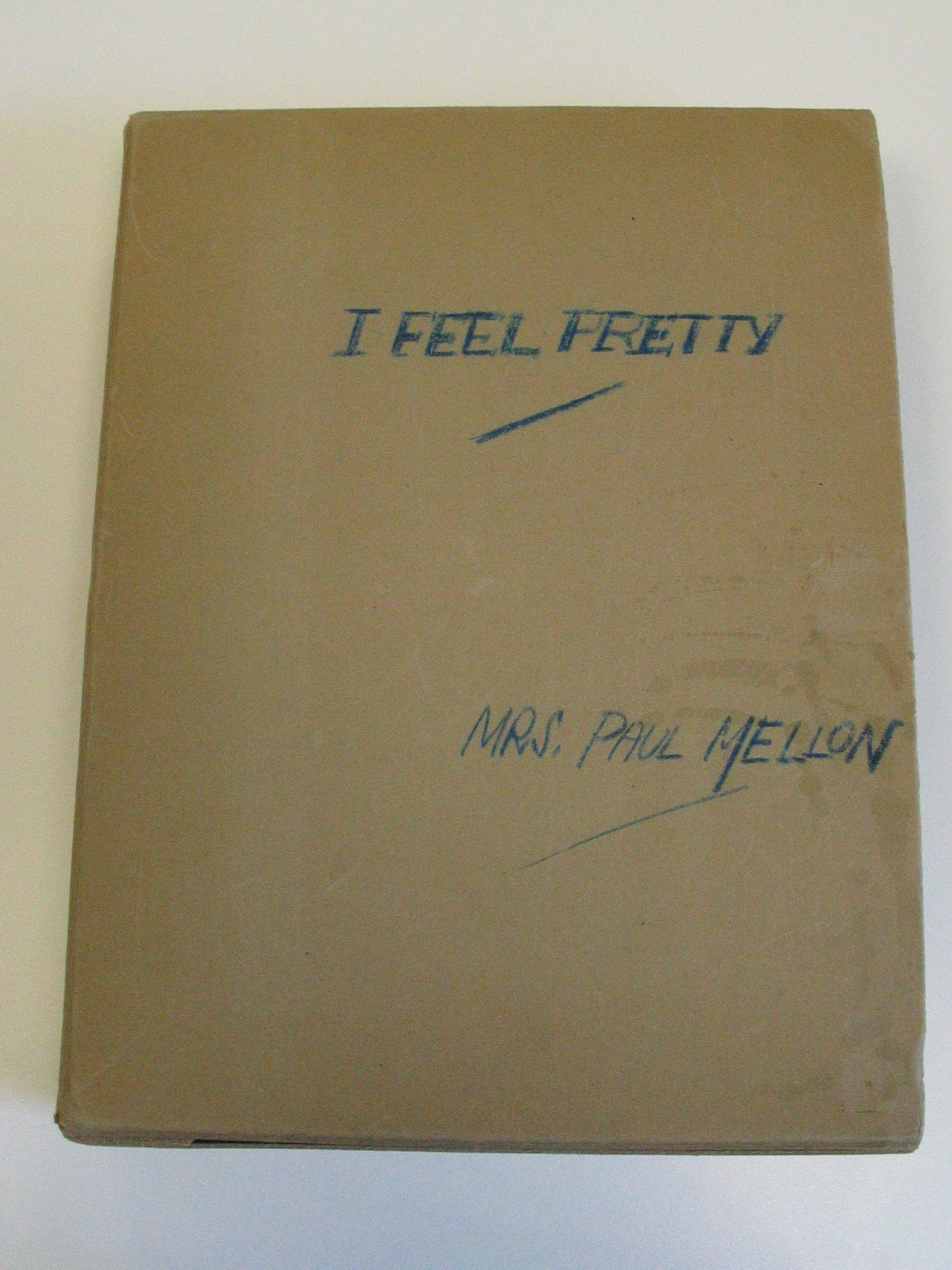 "Album  "" I FEEL PRETTY"""