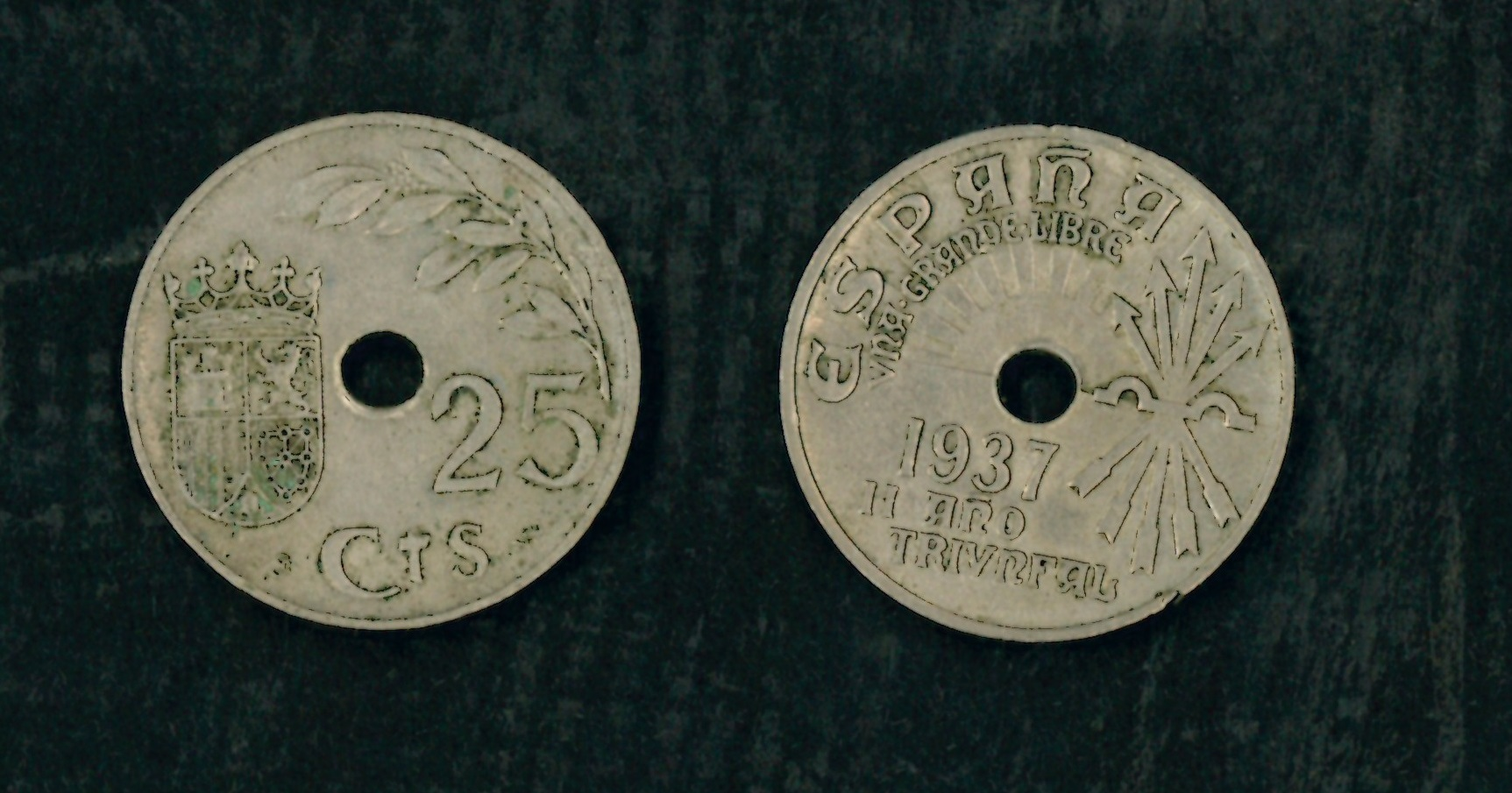 Moneda de 25 céntimos