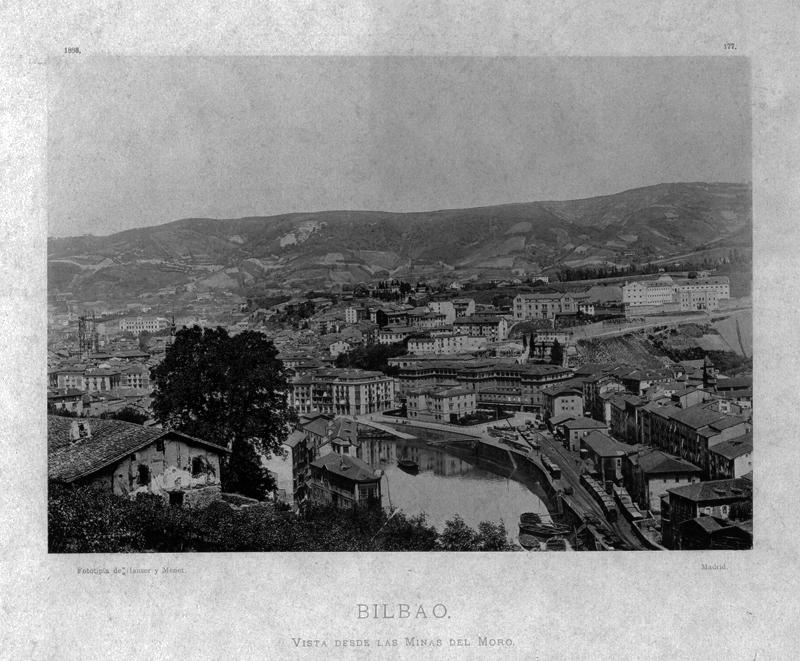 """""""Bilbao. Vista desde las minas del Moro"""""""