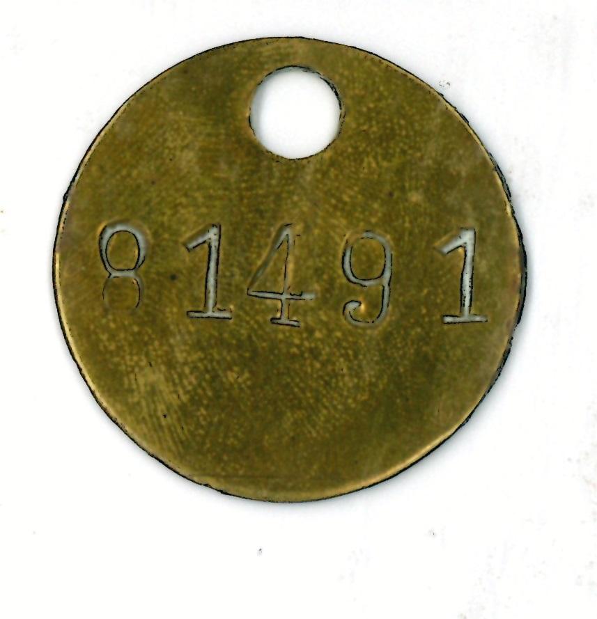 Placa de identificación militar