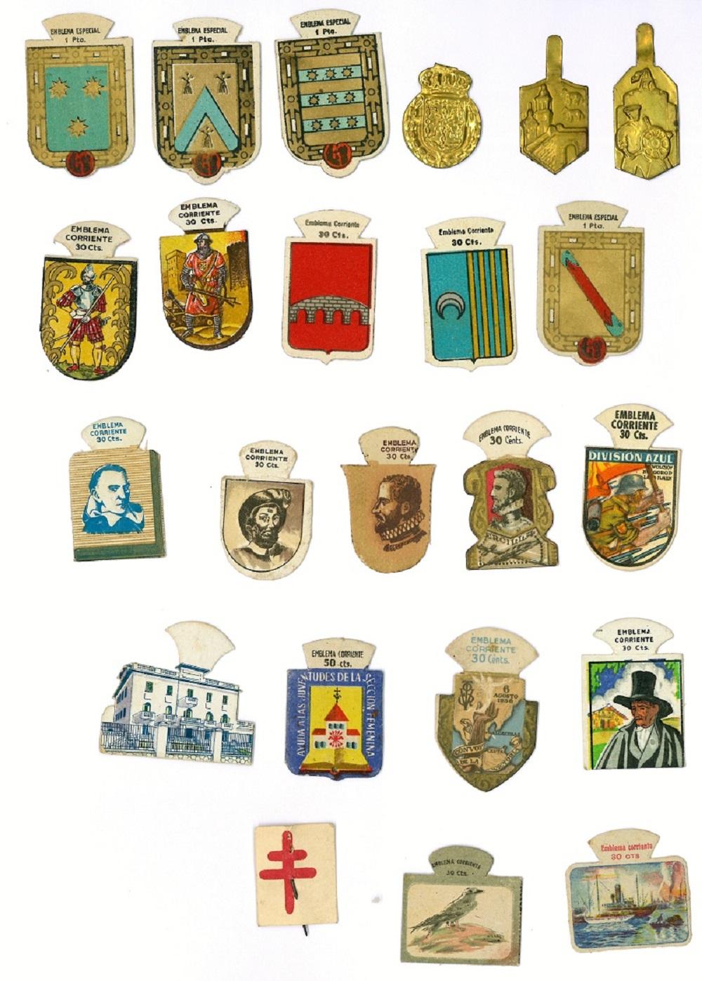 Emblemas de solapa