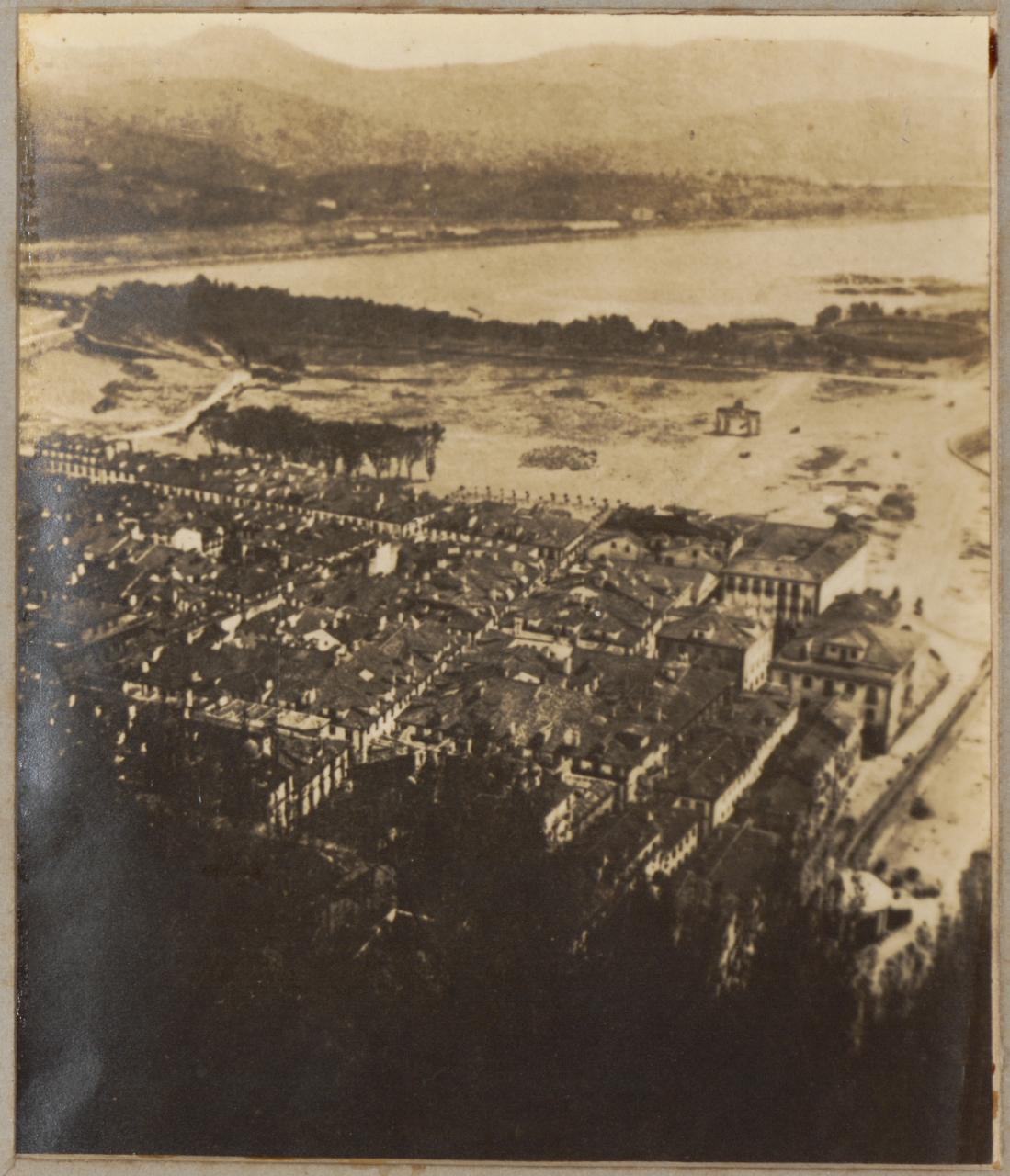 Vista de San Sebastián desde el macho