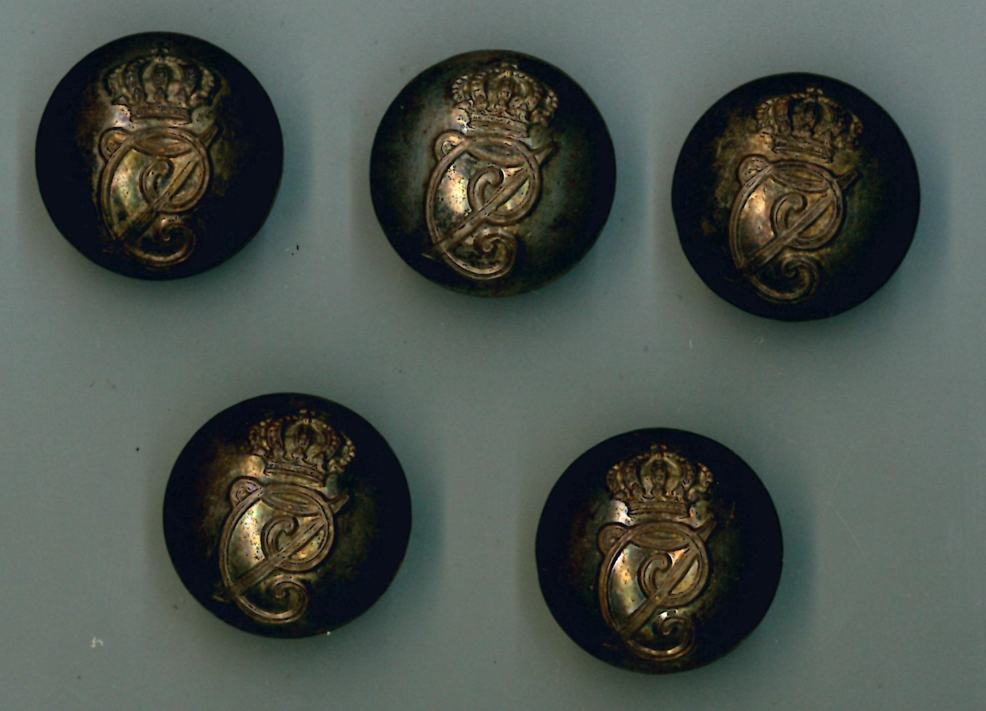 Botones de uniforma carlista