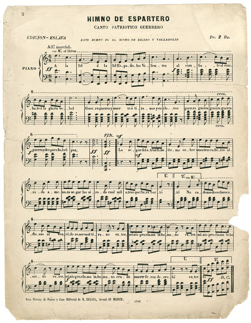 """""""Himno de Espartero"""""""