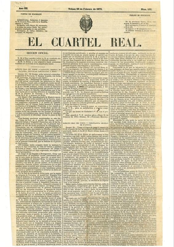 """""""El Cuartel Real"""""""