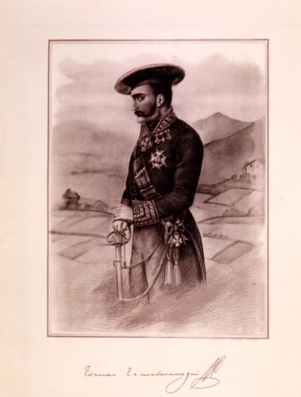 Retrato de Tomás de Zumalacarregui