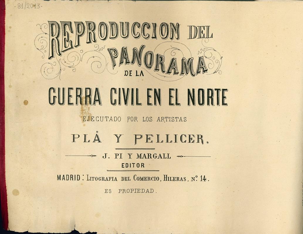 """""""Reproducción del Panorama de la Guerra Civil en el Norte"""""""