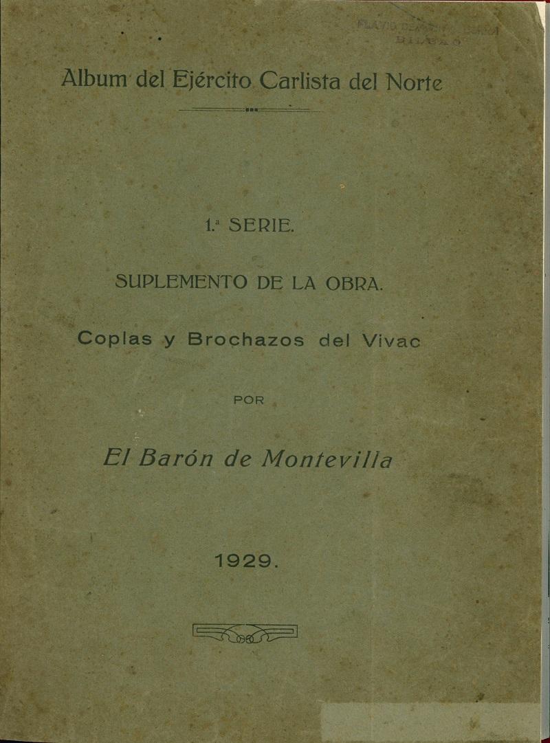 """""""Álbum del Ejército Carlista del Norte"""""""