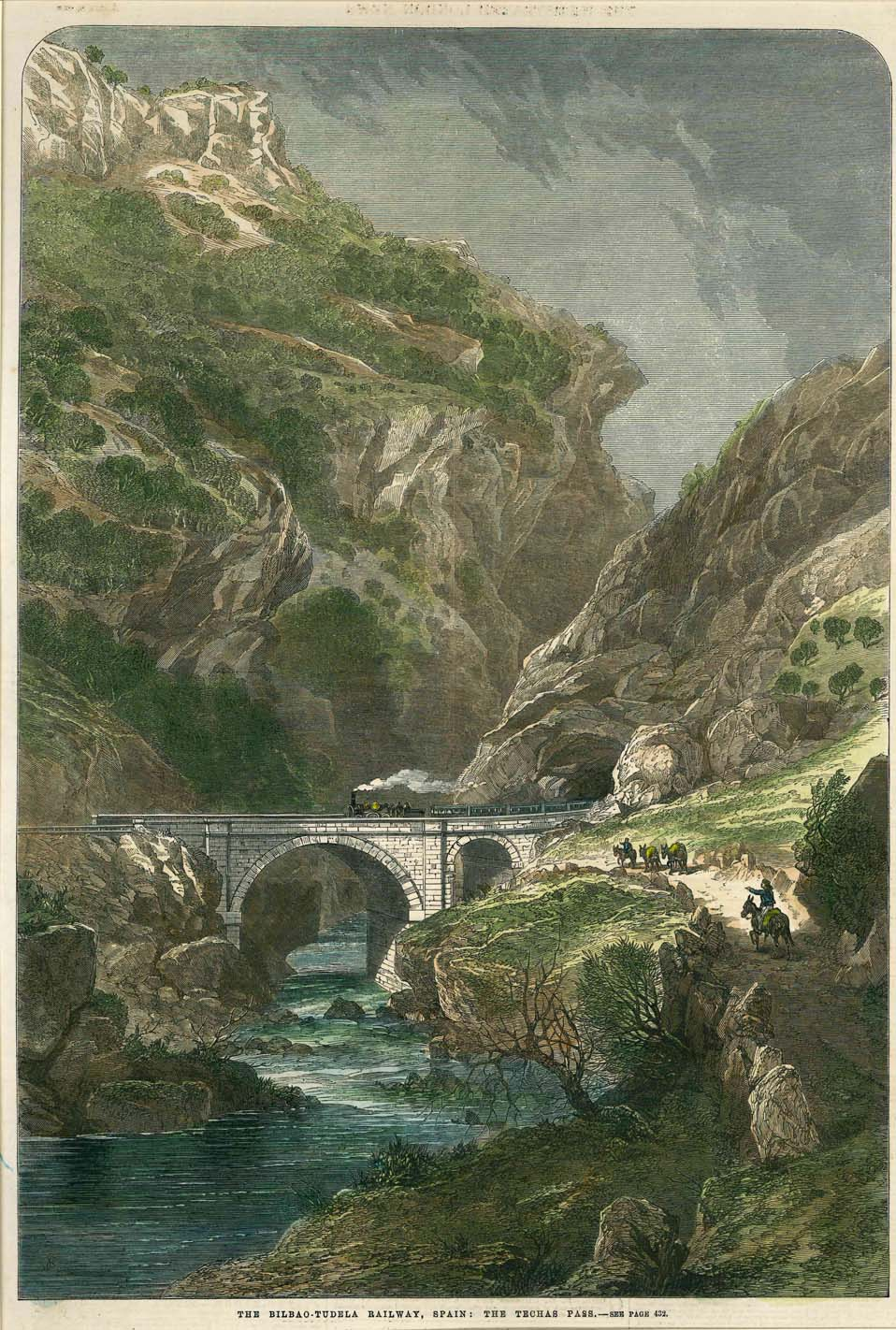 The Bilbao-Tudela Railway