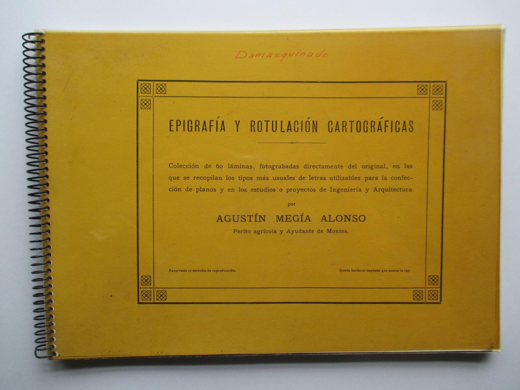 Epigrafía y rotulación cartográficas