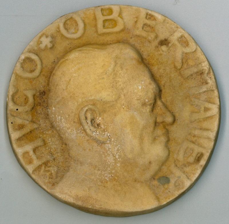 Medalla de Hugo Obermaier
