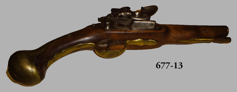 Pistola de oficial de Caballería del Real Cuerpo de Guardias  de Corps