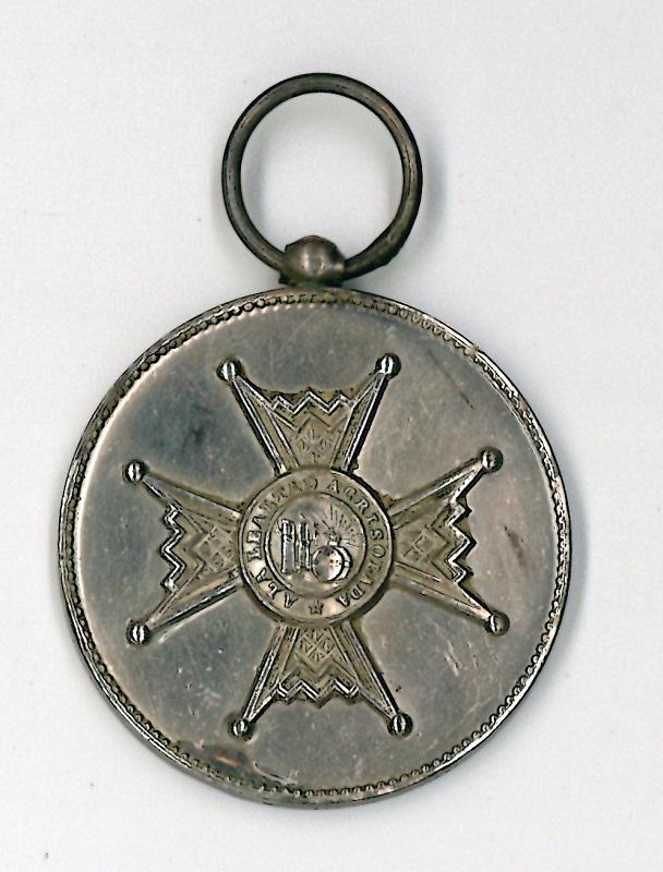 Medalla de plata de la Orden de Isabel la Católica